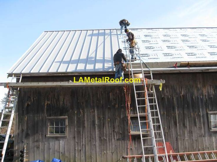 How To Diy A Standing Seam Roof Garage Remodel