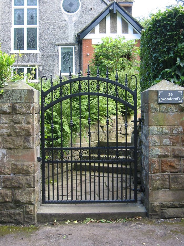 17 Best Wrought Iron Gates Images On Pinterest