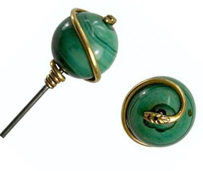 hat pins | Antique hat pins: