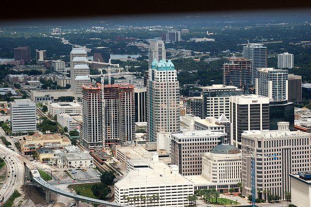 Downtown Orlando Fla Skyline My Trip To Florida Pinterest Orlando And Downtown Orlando