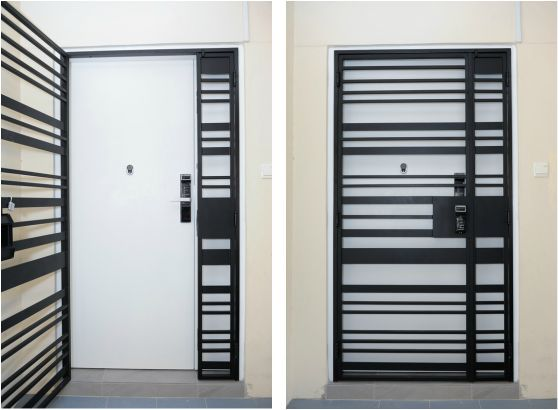 Door Gate For Apartments Interior Designs Doors