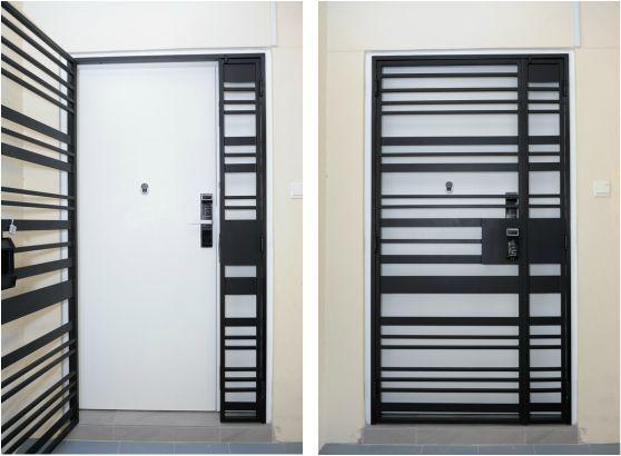 door gate for apartments interior designs doors door gate rh pinterest com
