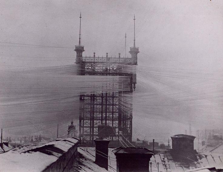 """Telphone Tower"" in Stockholm"