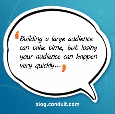 Ten Tips for Growing Your Target Audience Using Social Media via Conduit Blog