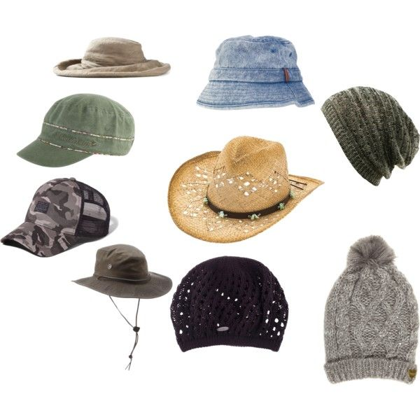 """Natural Personality Style (Hats)"" by silhouetteimage on Polyvore"