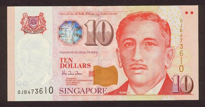 Singapore banknotes 10 Dollars banknote Portrait Series (1999–present). Singapore dollar, Singapore banknotes, Singapore paper money, Singapore bank notes, Singapore dollar bills - world banknotes money currency pictures gallery.