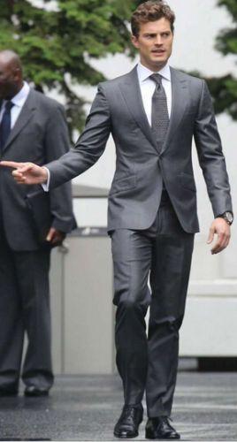 Bespoke-Best-Men-Suits-Grey-Groom-Tuxedos-Groomsmen-Wedding-Party-Prom-Suit-2016