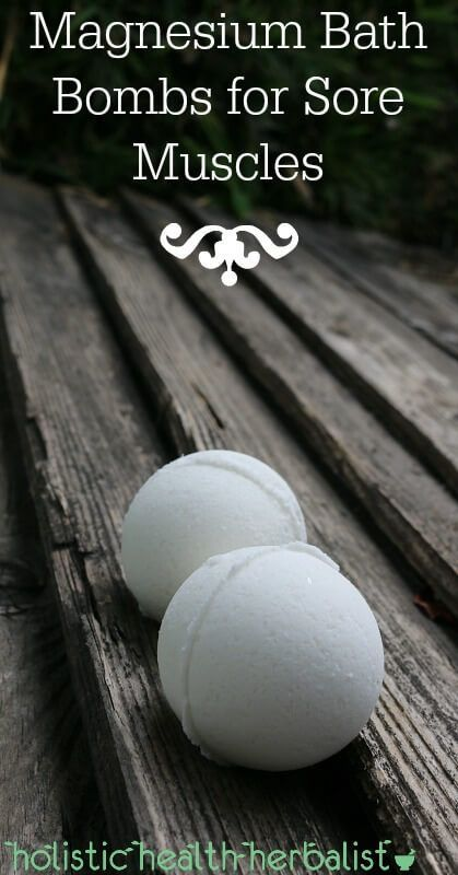 Magnesium Bath Bombs for Sore Muscles - These bath bombs are perfect for minor…