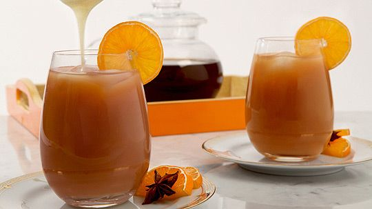 Iced Thai Tea.  can we say YUM!