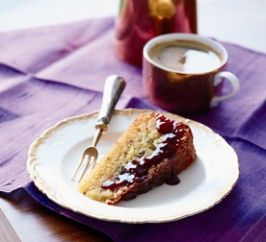 Flour-Free Orange and Lavender Cake