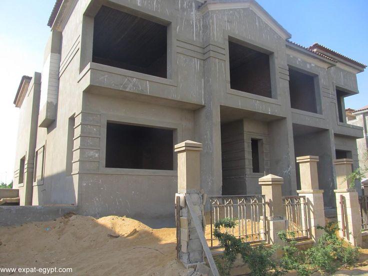 عقار ستوك فيللا توين هاوس في كمبوند ليك فيو Villa Structures Road