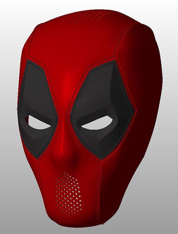 Deadpool masque v.1.1 pour DIY 3D-impression