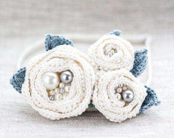 Crochet white brooch Crochet Flower brooch Crocheted by ArsiArt, $25.00