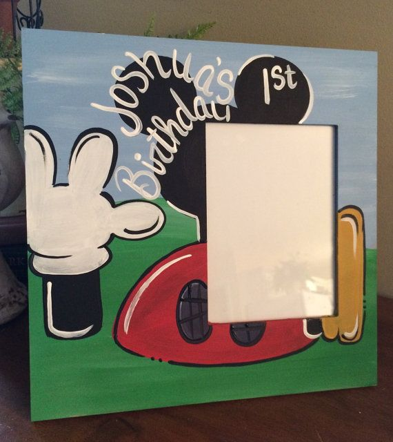 Hey, I found this really awesome Etsy listing at https://www.etsy.com/listing/234127533/mickey-mouse-clubhouse-frame-minnie