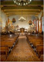 Santa Barbara Courthouse  On your visit, see... -The Mural Room (2nd Flr) -The Law Library (2nd Flr) -Hall of Records -The Grounds -The Clock Gallery, and -Observation (view) Tower Courthouse Location... 1100 Anacapa Street Santa Barbara, CA  93101