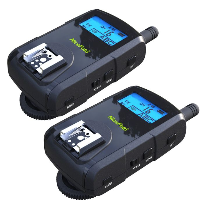 Радиосинхронизатор NiceFoto TTL-318C для Canon (режим TTL, частота 2.4Ghz)