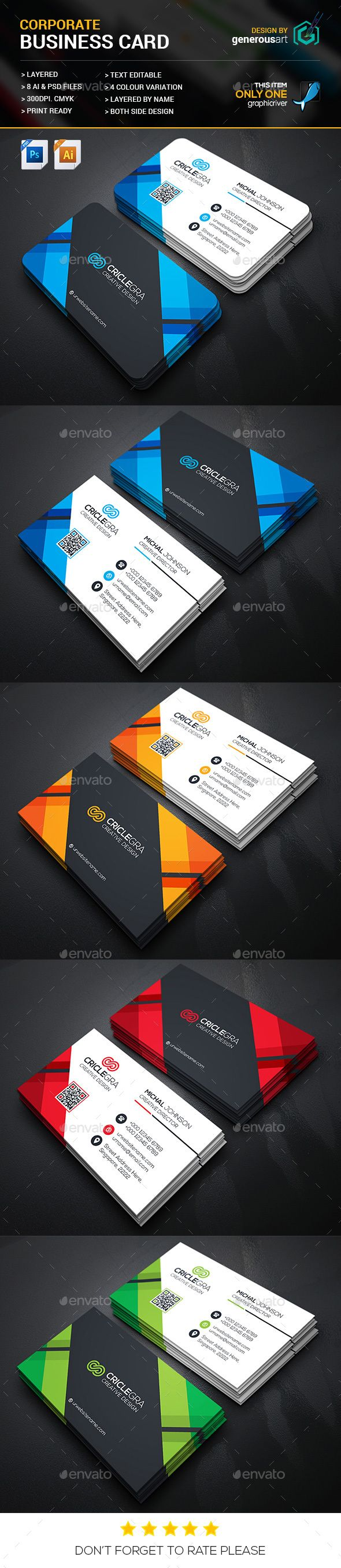 22 best Business Card Template images on Pinterest | Business card ...