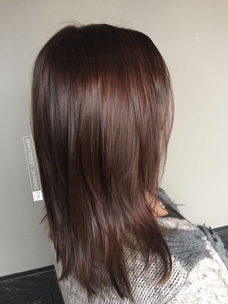 Best 25+ Deep brown hair ideas on Pinterest | Medium dark ...