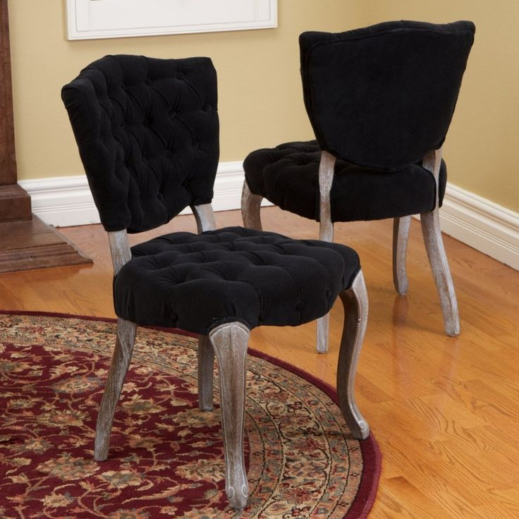 black dining room chairs fabric dining chairs dining chair set dining