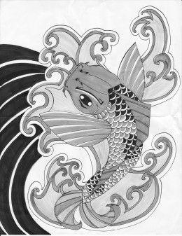 Japanese Koi Fish Tattoo Meaning