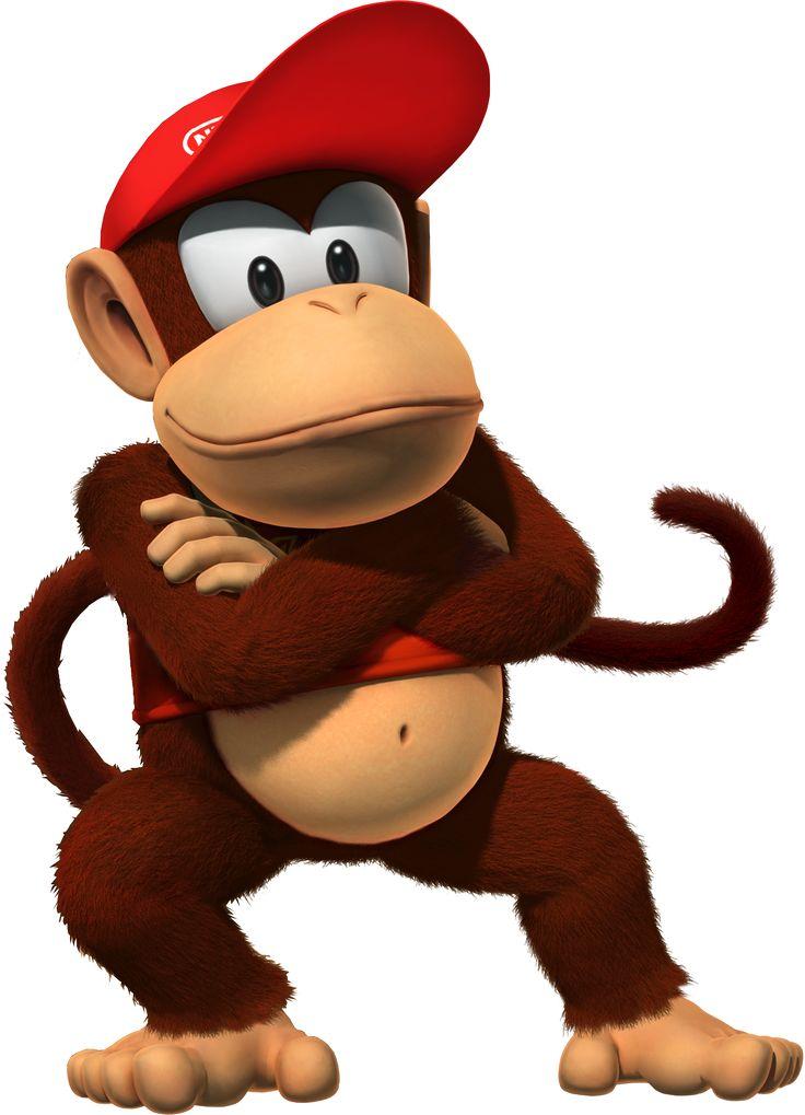 Cartoon Characters: Donkey Kong Country main characters (