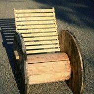 haspel stoel | Meer dan 1000 ideeën over Kabel Spool Tafels op Pinterest - Spoel ...