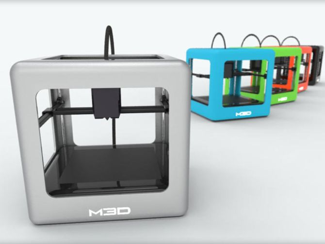 The Micro 3D printer tops $1M on Kickstarter in one day - CNET