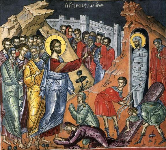 The Raising of Lazarus Воскрешение Лазаря | Православная Жизнь
