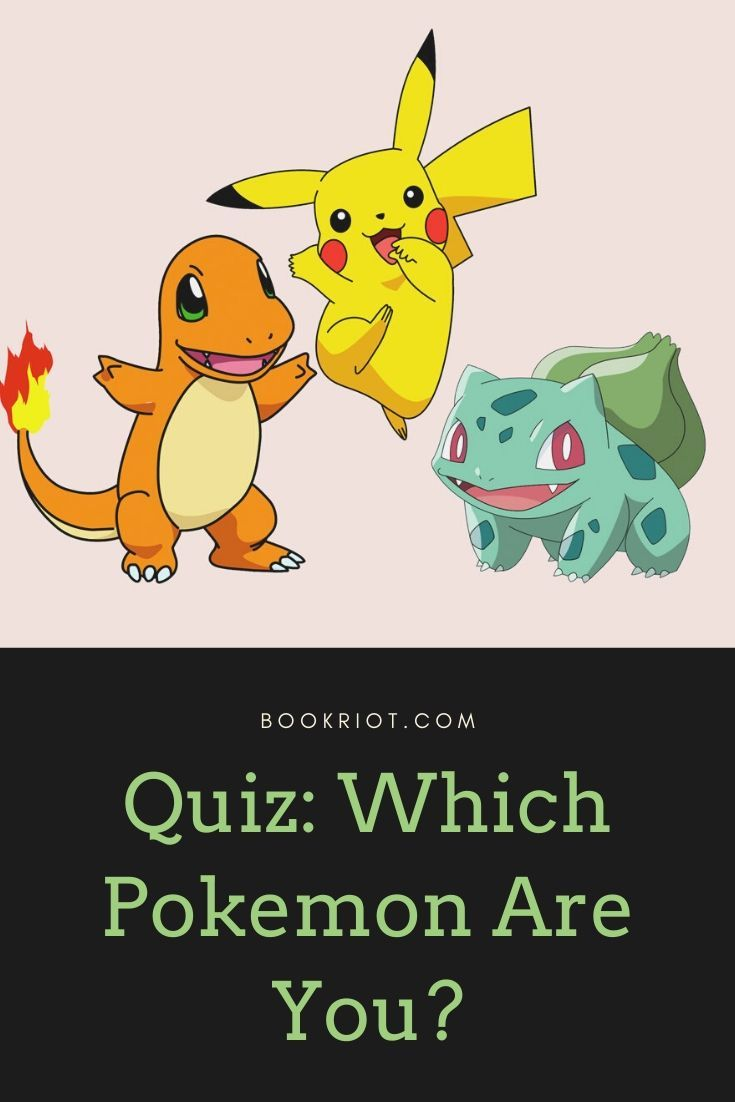 Quiz Which Pokemon Are You Pokemon Quiz Pokemon Pokemon Adventures Manga