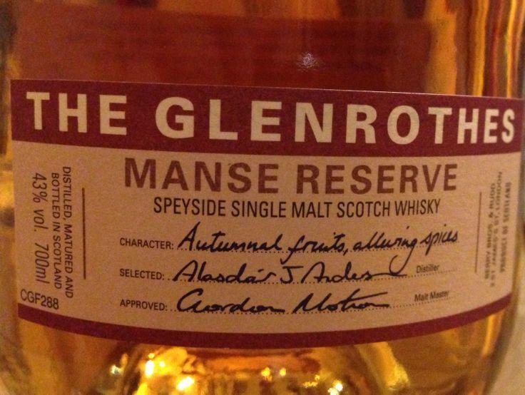 Glenrothes Manse Reserve 43%