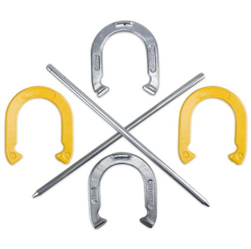 Professional Steel Horseshoe Set with Carrying Case