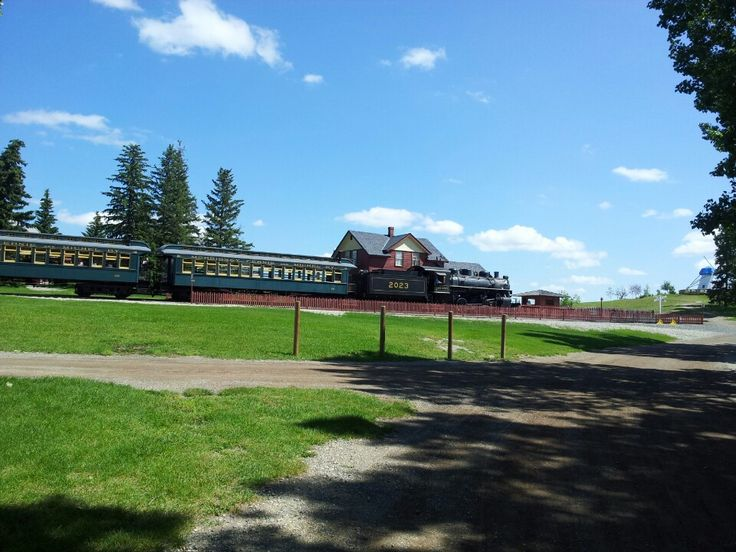 Heritage Park Historical Village in Calgary, AB