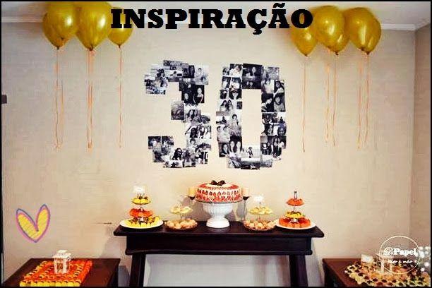 festa 30 anos ideias - Pesquisa Google