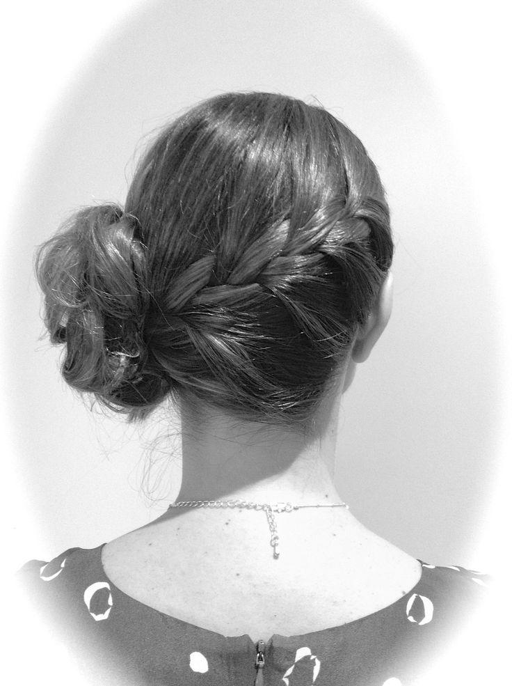 Braid/up/long hair