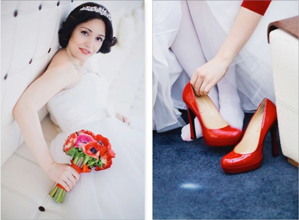 образ невесты зимой #wedding #winter #bride
