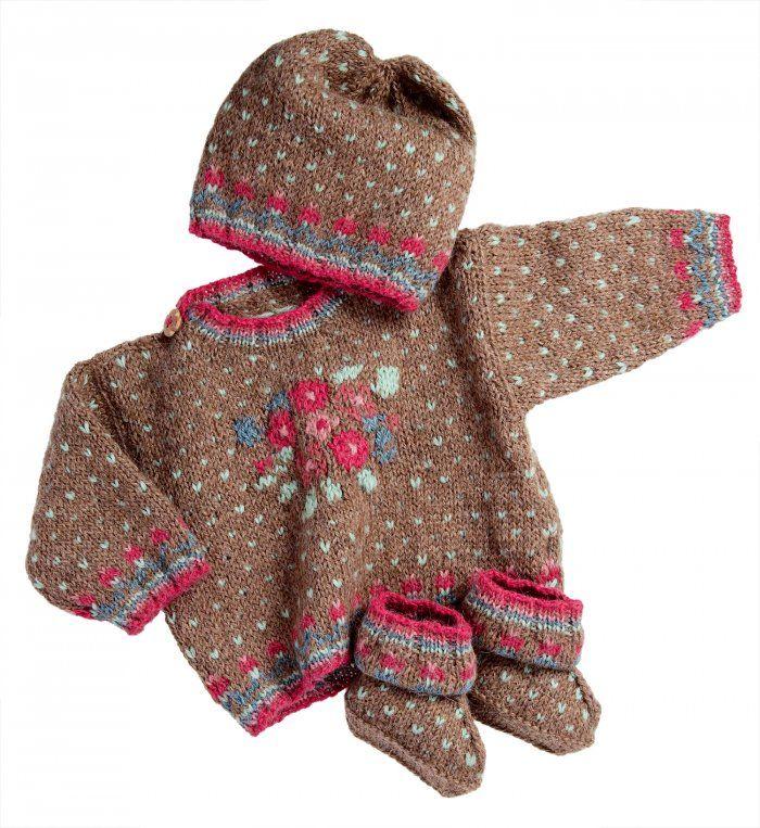 Une layette en alpaga pour bébé