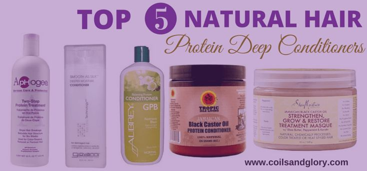 Top 5 Protein Deep Conditioning Treatments for Natural Hair