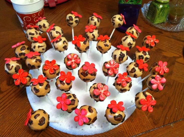 Kidney Fundraiser Cake Pops