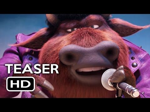 Sing Official Teaser Trailer (2016) Matthew McConaughey, Scarlett Johansson Animated Movie HD - YouTube