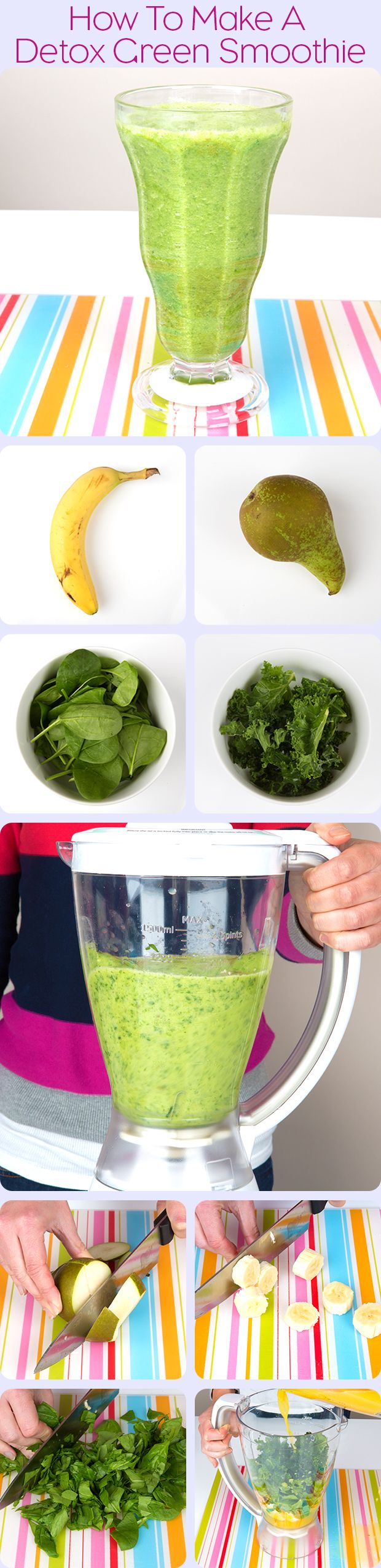 How to Make a Detox Green Smoothie