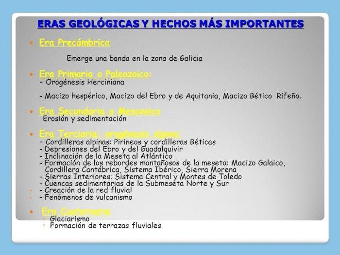 Cuadros Sinopticos Sobre Eras Geologicas Y Sus Divisiones Cuadro Comparativo Sinoptico Origen De La Tierra Geografia Fisica