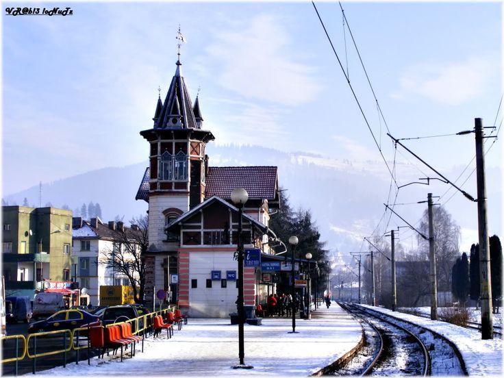 Vatra Dornei Băi (502)- Railway station - Romania