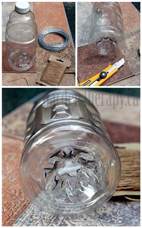 DIY Wasp Trap from recycled materials via www.gardentherapca (Medium)
