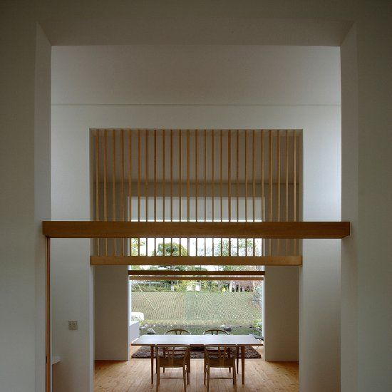 House of Fujinomiya is a minimalist house located in Mount Fuji, Japan, designed by CASE DESIGN STUDIO.