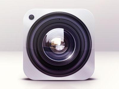 Camera Icon Design / Dash