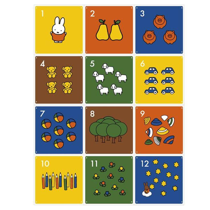 Creëer je eigen Nijntje avontuur met het IXXI Nijntje wandsysteem! De wanddecoratie bestaat uit verschillende losse kaarten, zodat je de indeling zelf bepaalt en kunt variëren. Een bijzonder vrolijk en kleurrijk ontwerp, leuk voor de kinderkamer!