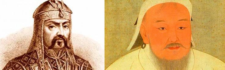 ¿Tenía realmente Gengis Khan los ojos rasgados? #MitosFalsos