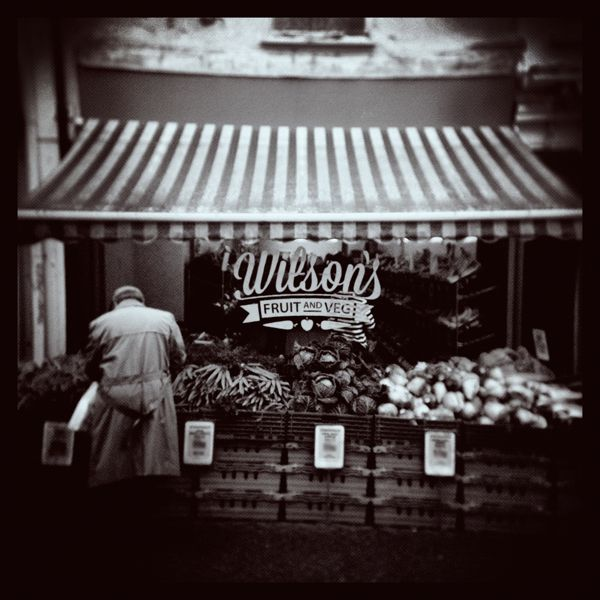 Wilson's Fruit and Veg by Donna Hall, via Behance