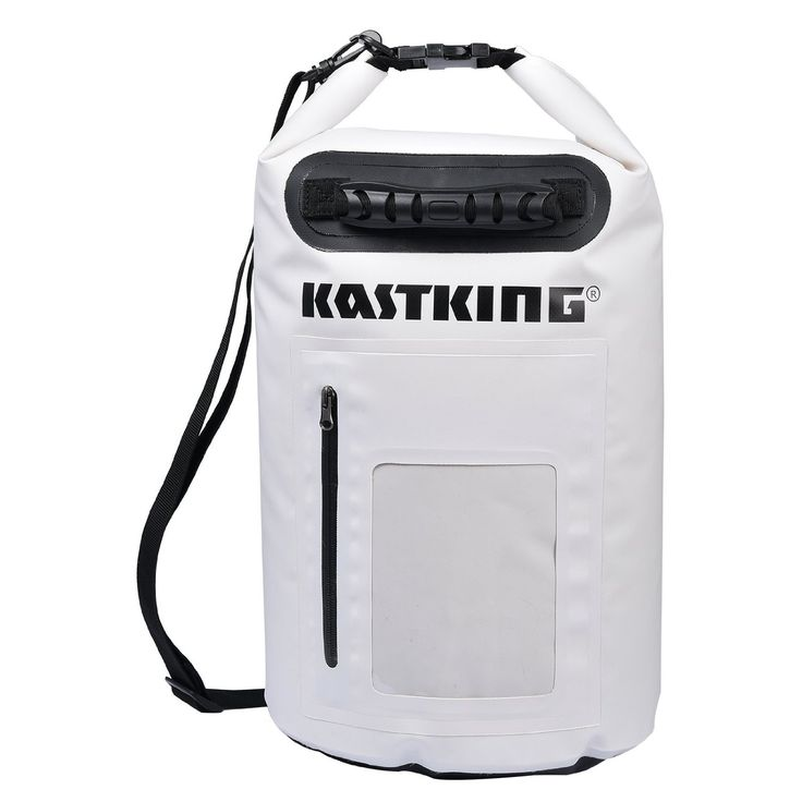 KastKing Dry Bag Waterproof Roll Top Type Duffel Bag with Zippered Compartment and Grab Handle * Check out the image by visiting the link.