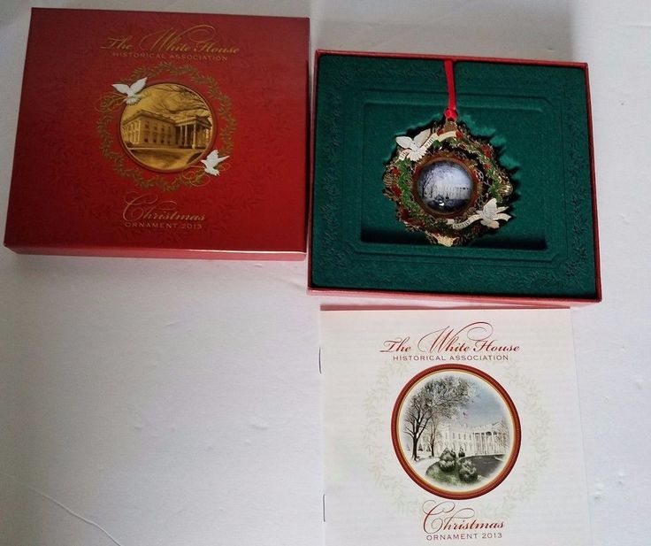 The White House Historical Association 2000 Christmas Ornament in the Box #TheWhiteHouseHistoricalAssociation